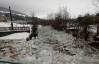 На Закарпатье начался ледоход