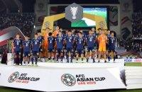 Футболісти збірної Японії після програного фіналу Кубка Азії залишили господарям послання на трьох мовах