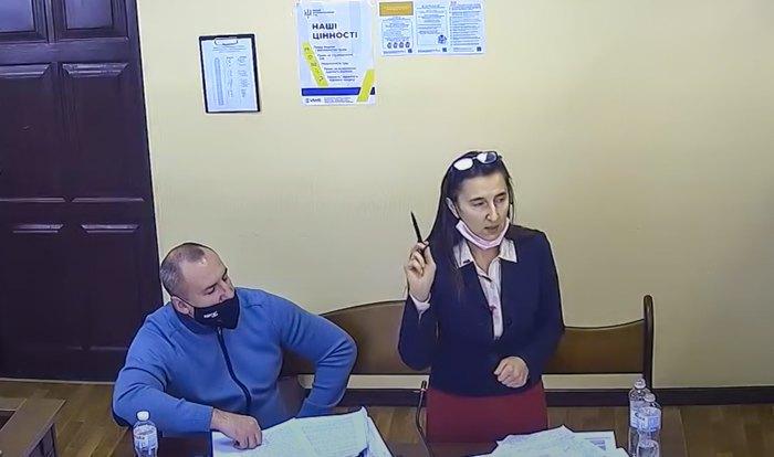 Людмила Шмальченко під час засідання суду