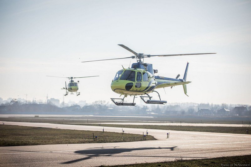 Перші два французькі вертольоти Н125 за контрактом із компанією Airbus Helicopter прибули у січні 2020.