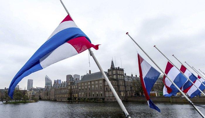 Здание парламента в Гааге, Нидерланды.