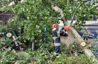 Через негоду знеструмлені 52 населені пункти в п'яти областях України