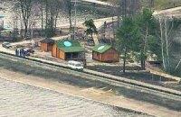 Журналистов задержали в лесу у резиденции Януковича