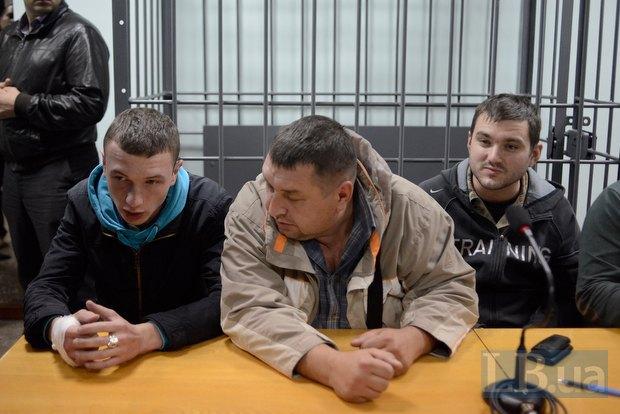 Слева направо - Сергей Бондарь, Виктор Поштарь и Руслан Андрийко