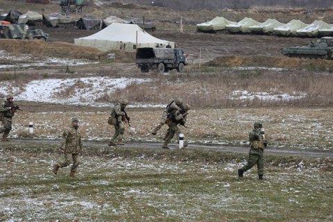 В Генштабе сообщили о проплаченной акции против военных учений в Херсонской области