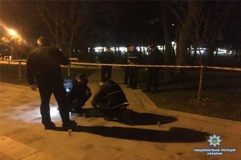 В киевском парке Киото двое мужчин пострадали от взрыва гранаты (обновлено)