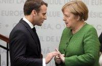 Меркель зявила о несогласии с Макроном относительно НАТО