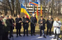 В центре Варшавы открыли сквер имени Стуса