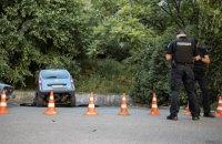 На Хрещатику в Києві два автомобілі провалилися під асфальт