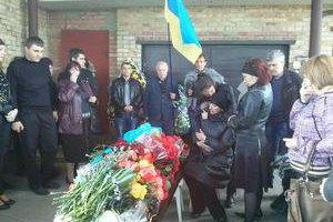 В Горловке под Гимн Украины похоронили убитого депутата горсовета