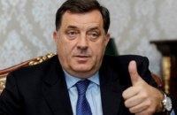 США ввели санкции против лидера боснийских сербов