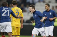 Украина – Франция: французская гильотина