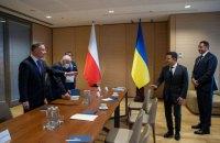 Зеленський запропонував Дуді запустити швидкісний потяг Київ - Варшава