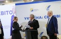 Тимошенко подписала с Федерацией работодателей меморандум о сотрудничестве