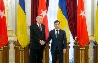 Зеленский и Эрдоган договорились активизировать переговоры о ЗСТ