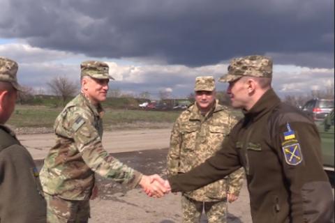 Делегация посольства США посетила зону ООС на Донбассе