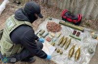 С тротилом и минами: в Славянске нашли тайник боевиков, планировавших диверсии на Донетчине