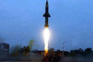 Индия испытала баллистическую ракету