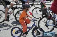 В Киеве прошел масштабный заезд велосипедистов