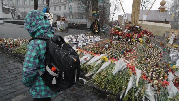 Кадр из фильма <<Киев/Москва>>