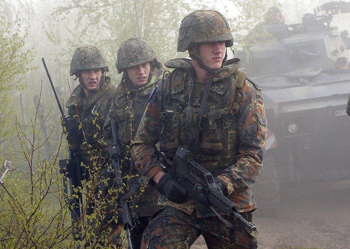 Солдаты Бундесвера на учениях в Боснии и Герцеговине
