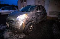 В Киеве на Академика Глушкова сгорело 5 машин