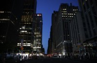 В центре Нью-Йорка произошел масштабный блэкаут