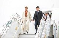 Зеленский прилетел в Литву
