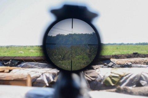На Донбассе за сутки произошло 15 обстрелов, ранен украинский военный