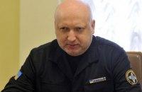 Турчинов провел совещание с руководством АТО на Светлодарской дуге