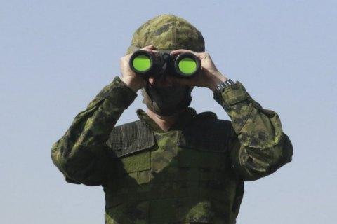 На Донбассе оккупанты стреляли пять раз, военные перехватили дроны противника