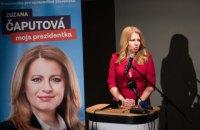 У Словаччині пройшов перший тур президентських виборів
