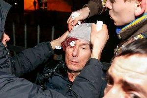 Юрий Луценко намерен обращаться в милицию относительно ночных событий на проспекте Победы