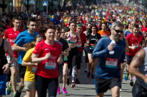 Майже 2 тисячі людей пробігли напівмарафон у Києві