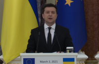 """Зеленський запропонував ЄС долучитися до """"Кримської платформи"""" новими санкціями"""