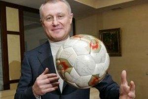 Суркіс задоволений, що збірна Росії проводить свої матчі в Польщі
