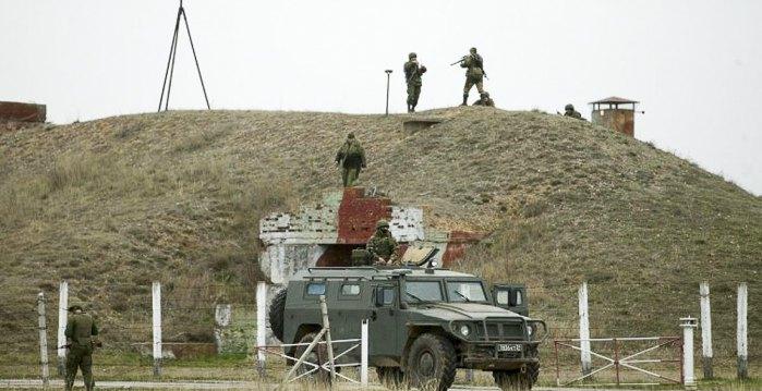 Штурм командного пункта тактической группы *Крым* ВСУ