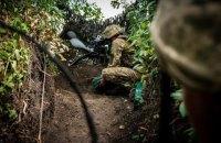 Український військовий поранений на Донбасі з початку доби