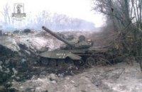 Військові під Дебальцевим розгромили танкову групу бойовиків, - ІО