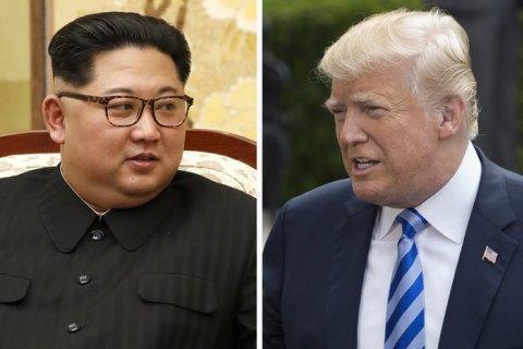 Трамп скасував зустріч з Кім Чен Ином