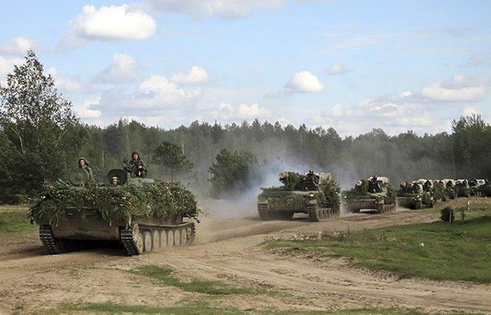 Танкові навчання Росія-Білорусь