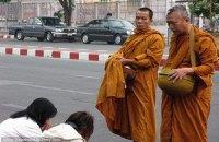 Буддийские монахи в Таиланде не поделили территорию
