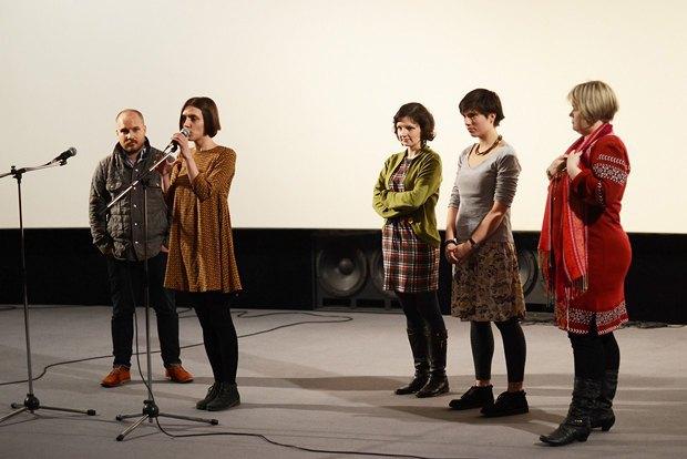 Украинская часть съемочной группы фильма и режиссер