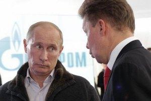 Міллер: постачання російського газу до Європи відповідає договорам
