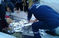 У Києві з мосту Метро в Дніпро впала жінка