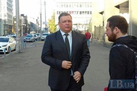 Восстановленный в должности глава КС Шевчук пришел на работу