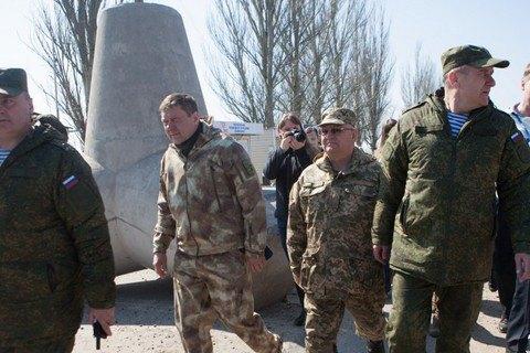 Российские военные из СЦКК по Донбассу имеют статус туристов