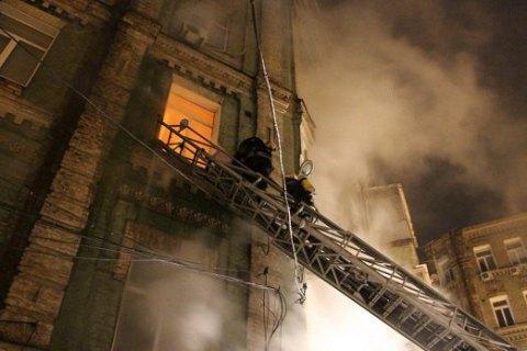 Згорілий Київ
