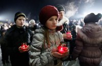 В Украине чтят память жертв Голодомора 1932-1933 годов