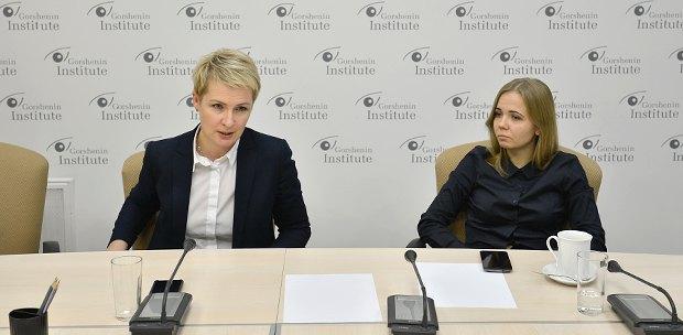 Тетяна Козаченко (зліва) та Анна Калинчук